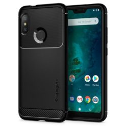 Spigen Rugged Armor για το Xiaomi Mi A2 Lite / Redmi 6 Pro Black S13CS24394