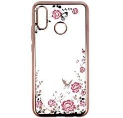 Back Case Flower για το HUAWEI P20 LITE light pink-0