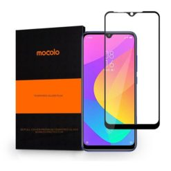 Mocolo Tempered Glass + Full Glue για το Xiaomi MI A3 Μαύρο-0